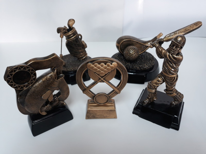 Trophies for engraving